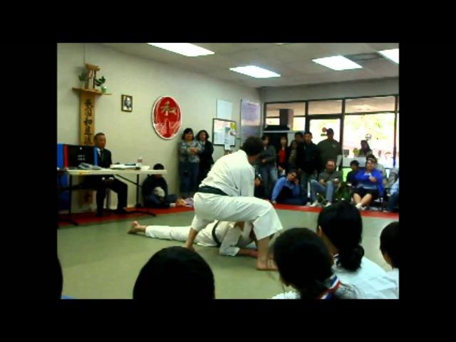 Wado-Ryu KarateJujitsu Demonstration - Tyrone Pardue, 6th Dan, AWKA Chief Instructor
