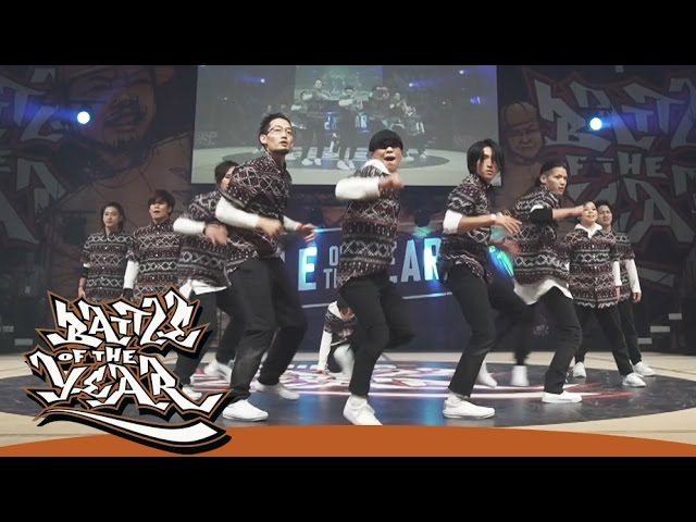 BOTY 2016 - Body Carnival (Japan) - Showcase [BOTYTV]