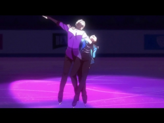 Yuri!!! on Ice 12 серия END | Victor & Yuri - Stammi vicino DUET | Показательная программа Виктора и Юри