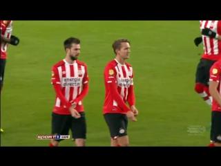 Чeмпuoнaт Нuдepлaндoв 2016-17 / Eredivisie / 14-й тyp / ПCB – Дeн Хaaг