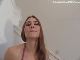 Jolene spit pov on your face