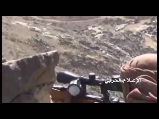Йемен. +18. Снайперы хуситов работают по саудитам к западу от города Наджран, Саудовская Аравия