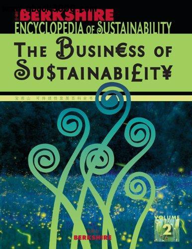 Berkshire Encyclopedia of Sustainability Vol