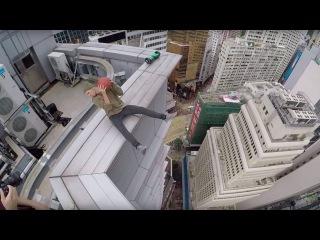 Тест-драйв гироскутера на небоскребе Гонконга!! OlegCricket