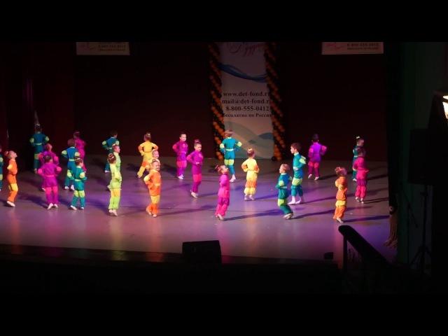 Броско на Международном фестивале Весна Победы Танец Фиксики