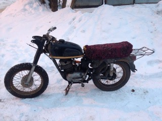 Реставрация у-ретро мотоцикла Восход-Ковровец Часть 1