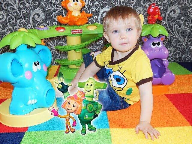Развивающие игрушки фиксики для детей Fisher Price большие игрушки для самых маленьких