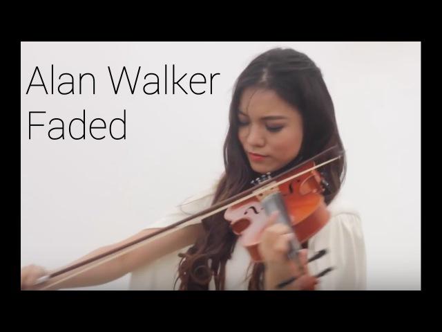 Alan Walker FADED Violin Cover by Yustin Arlette
