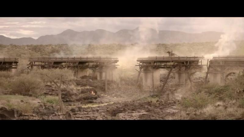 Восстание Техаса. Подрыв техасцами моста