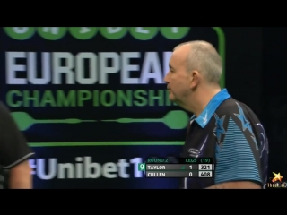 Phil Taylor vs Joe Cullen (PDC European Championship 2016 / Round 2)