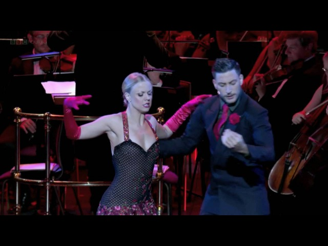 Libertango Astor Piazzolla BBC Strictly Prom 2016 Giovanni Pernice Joanne Clifton