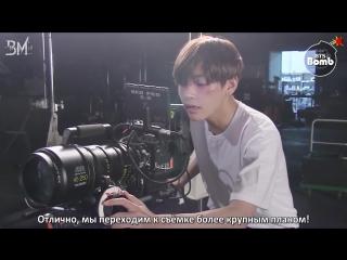 [rus sub][bangtan bomb] 'wings' short film special stigma (camera director v)