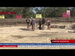 Археологи обнаружили античный некрополь под Керчью Уникальный памятник античной истории под Керчью. Археологи нашли некрополь, о