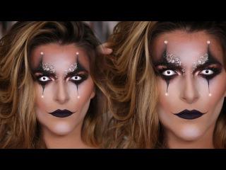 Sexy Clown Halloween Makeup Tutorial