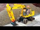 Мультфильмы про Машинки Трактор Павлик Экскаватор на стройке Развивающие мульт