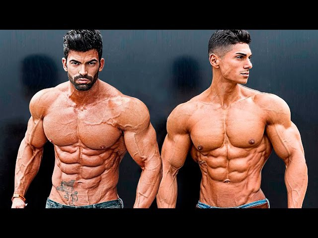 Andrei Deiu and Sergi Constance Aesthetics and Bodybuilding Fitness Motivation 2019
