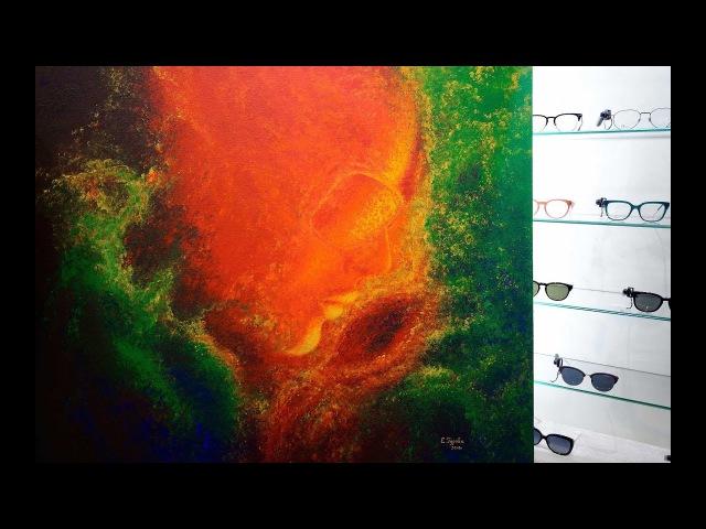 Презентация картины Другое измерение в клубе оптики RENOME г Санкт Петербург