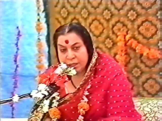 Лекция Шри Матаджи Достигните силы Духа внутри Рахури Индия. 25.02.1984