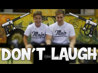 Extreme Try Not To Laugh Challenge! (w/ Paintball Guns!)