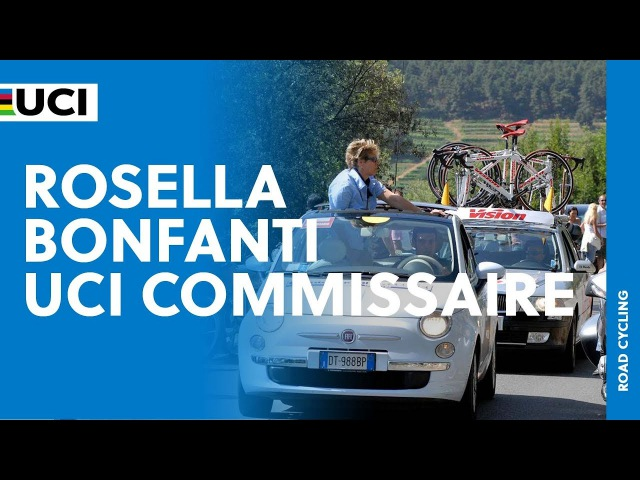 Meet Rosella Bonfanti UCI Commissaire Women's Cycling