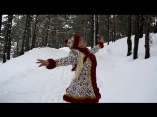 """Валентина Рязанова   """"Зимушка-зима"""" (сл. и м. С Перимбаева)"""