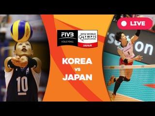 Korea v Japan - 2016 Women's World Olympic Qualification Tournament