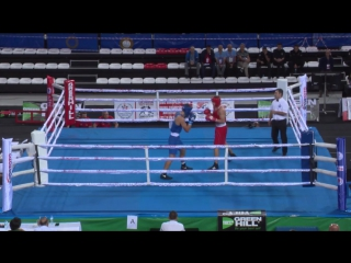 RUSLAN KOLESNIKOV (RUS) - ADRIAN BUHANIUC (MDA). 81kg. Quarterfinals