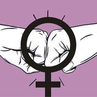 Логотип Новосибирская Феминистская Группа