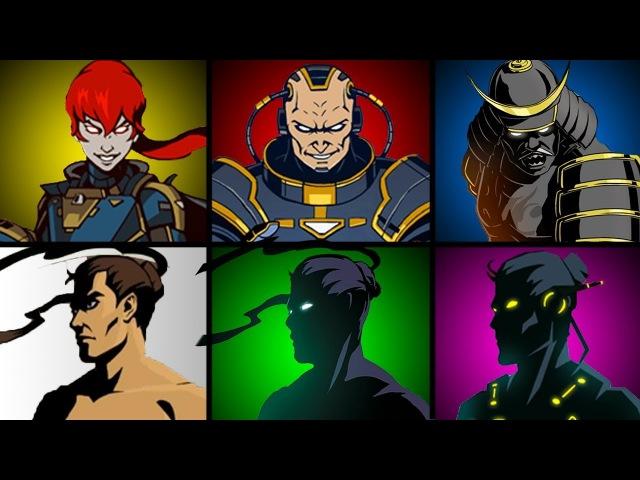 САМОЕ ПОЛНОЕ ПРОХОЖДЕНИЕ игры Shadow Fight 2 Бой с тенью. ШАДОУ ФАЙТ победил ТИТАНА - все серии КИД