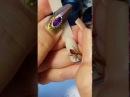 Юлия Билей Паук Julia Biley Spider nail art Periscope