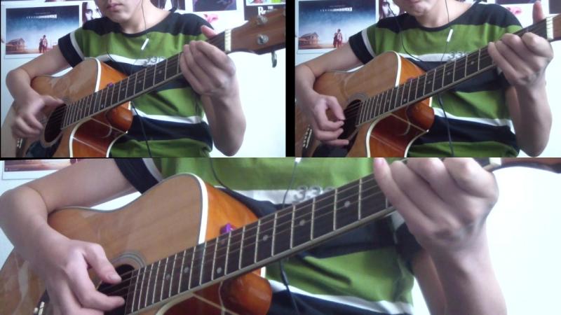 Алихан Жанажолов - Believer (Guitar cover)