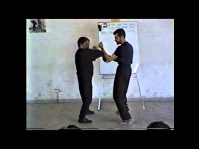 Wing Chun Malaysia - SIfu Wong Shun Leung on Lap Sau Drill