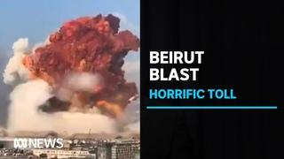 Massive port explosion 'a catastrophe' as Beirut counts dead amid lockdown   ABC News