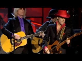 Prince, tom petty, steve winwood, jeff lynne, harrisonjr. and others while my guitar gently weeps