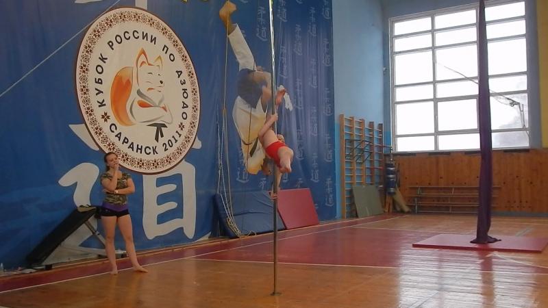 Майорова-Яркова Евангелина Pole Sport ДЕТИ профессионалы
