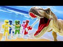 Toys Story Full Episodes RAMPAGE Crocodile DINSAUR Attack Power Rangers Fun Toy Kids 12