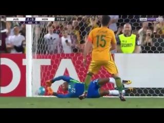 Australia vs honduras 3-1 goals extended highlights 15-11-2017