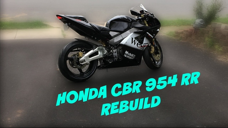 HONDA CBR954RR FULLY RESTORATION. 4 MONTH REBUIL
