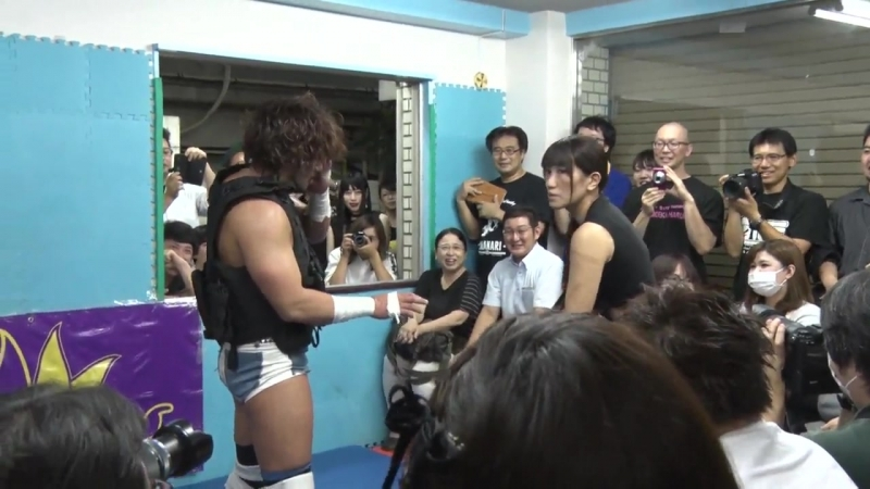 Moeka Haruhi vs Mokujin Ken vs Yumehito Imanari Ganbare Wrestling Kids Return 2018