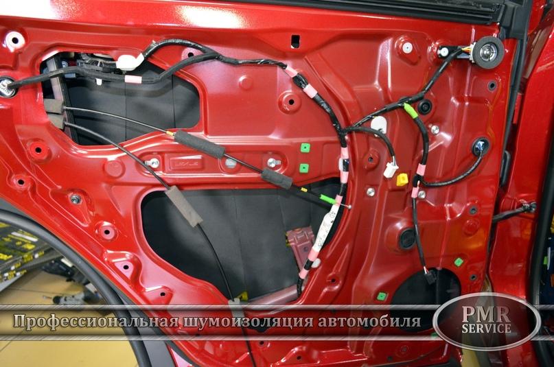 Комплексная шумоизоляция Lexus RX, изображение №15
