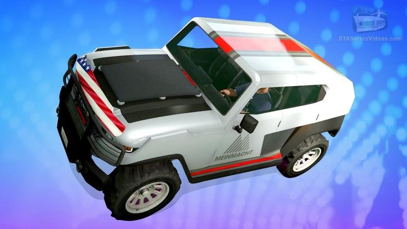 GTA Online - Canis Freecrawler Gameplay (Unreleased Vehicle)