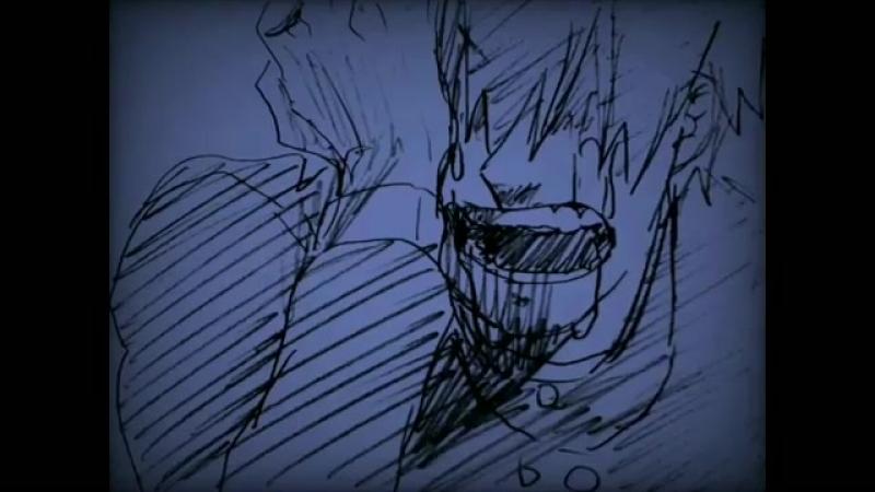手描きカゲプロ 狼 狽 え る 心 臓 と 群 青 市 街 に 鳴 り 散 か す サ イ レ ン が 酷 く 煩 か っ た