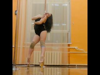 Мария Платицына Exotic pole workshops • May 3, 2017