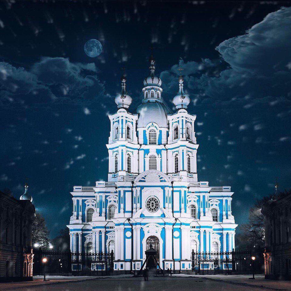 Смольный собор банк спб напротив фото