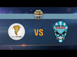 Brain Storm vs Not So Serious - day 2 week 7 Season II Gold Series WGL RU 2016/17