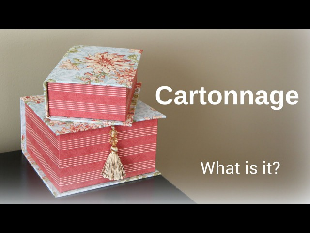 What is cartonnage Learn now