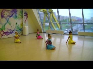Танец Восход, группа 6-8 лет, отчетное занятие в Купчино