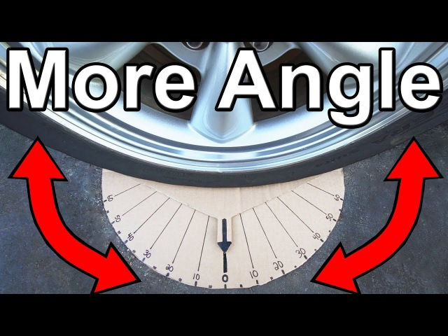 How to Get Your Car to Make Sharper Turns (Steering Angle Mod)