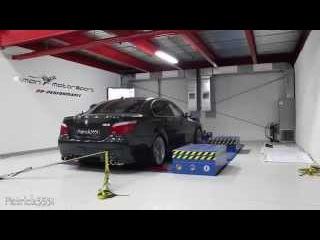 Dyno Run - BMW M5 V10 with IPE frequency intelligent exhaust @ SimonMotorSport Dubai