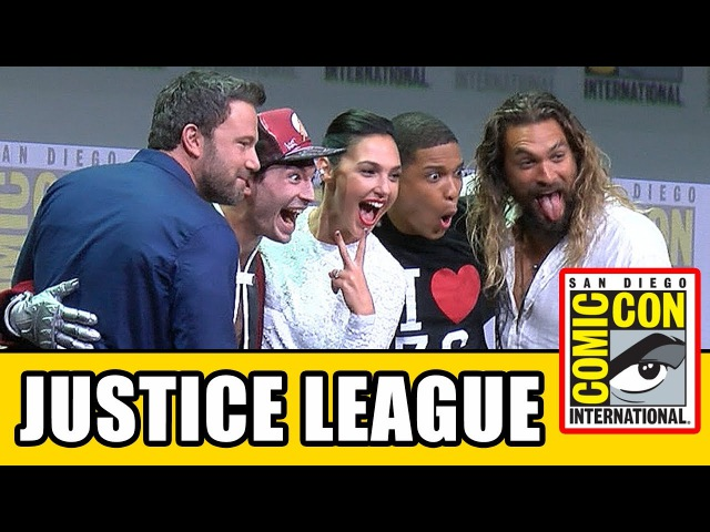 JUSTICE LEAGUE Comic Con 2017 Panel News Highlights